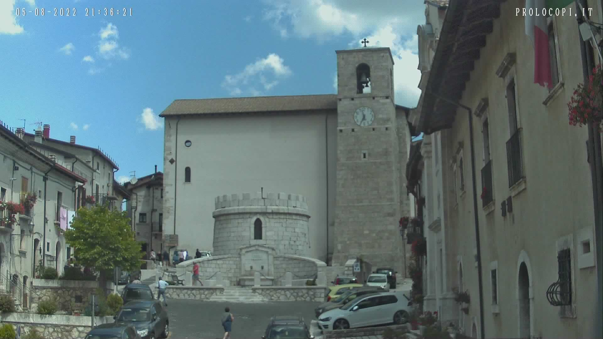 WebCam Piazza Opi